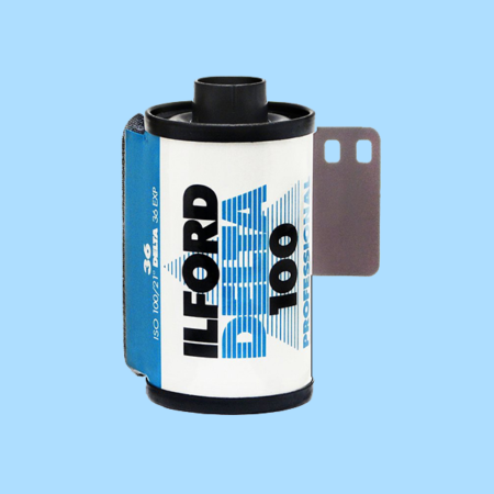 Ilford Delta 100 Professional Black and White Film 35mm