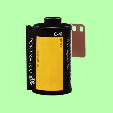 Kodak Portra 160 35mm Color Negative Film Single Roll