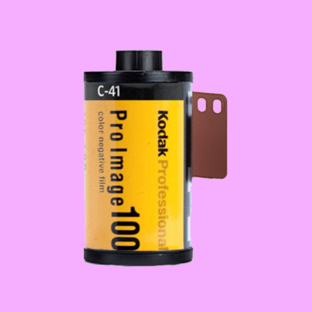 Kodak Pro Image 100 Color Negative Film Single Roll